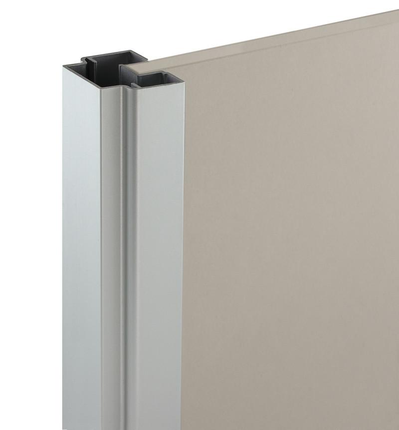PSC aliuminio spalva